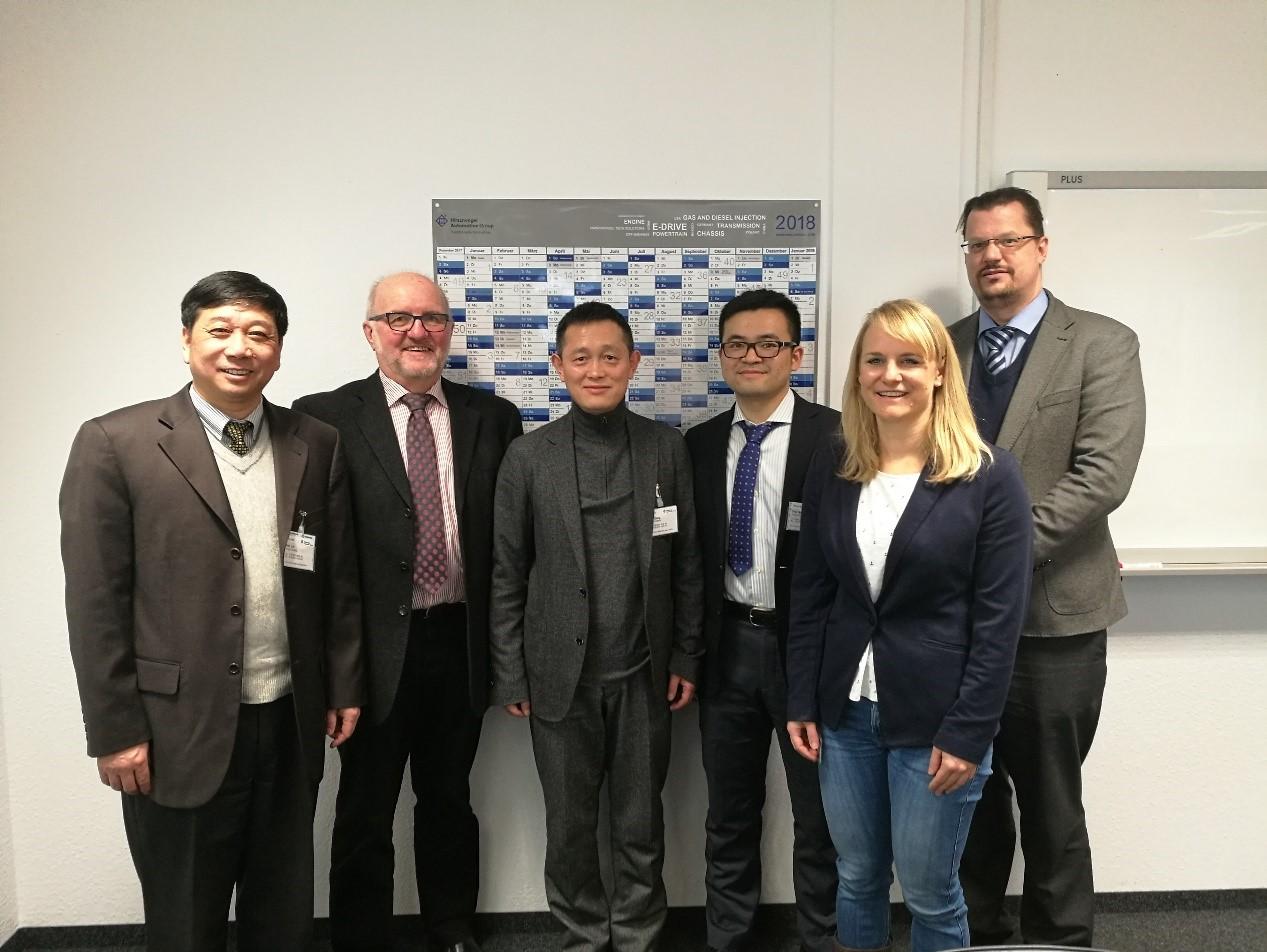 林建平教授与闵峻英教授赴德国进行学术交流图片